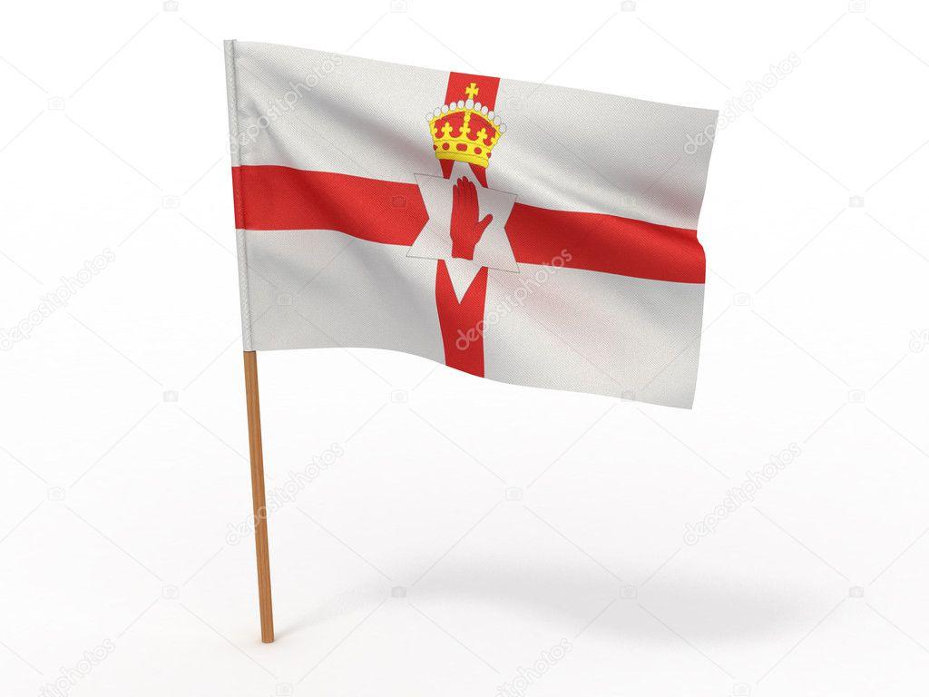 Irlandii Północnej Flaga Flaga Irlandii Północnej
