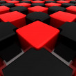 Abstract background. Cubes - Stockfoto