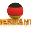Symbol of Germany - Stockfoto