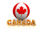 Symbol of Canada — Stock Photo