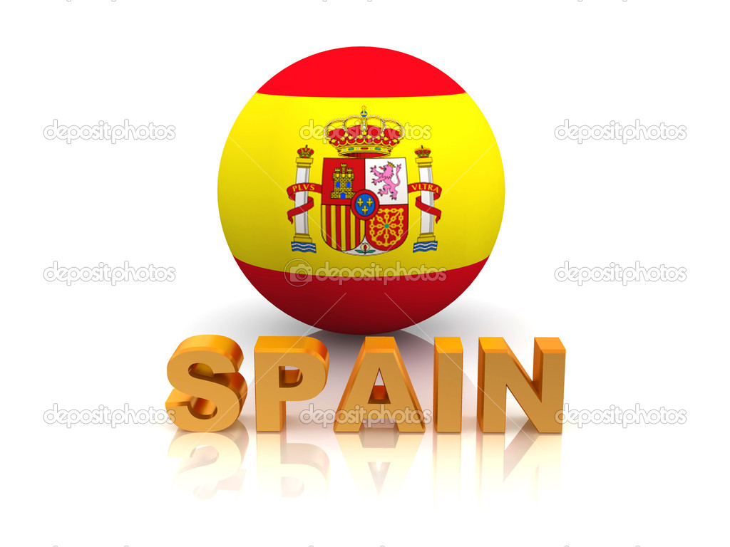 Spain background design. Spanish traditional symbols and ...