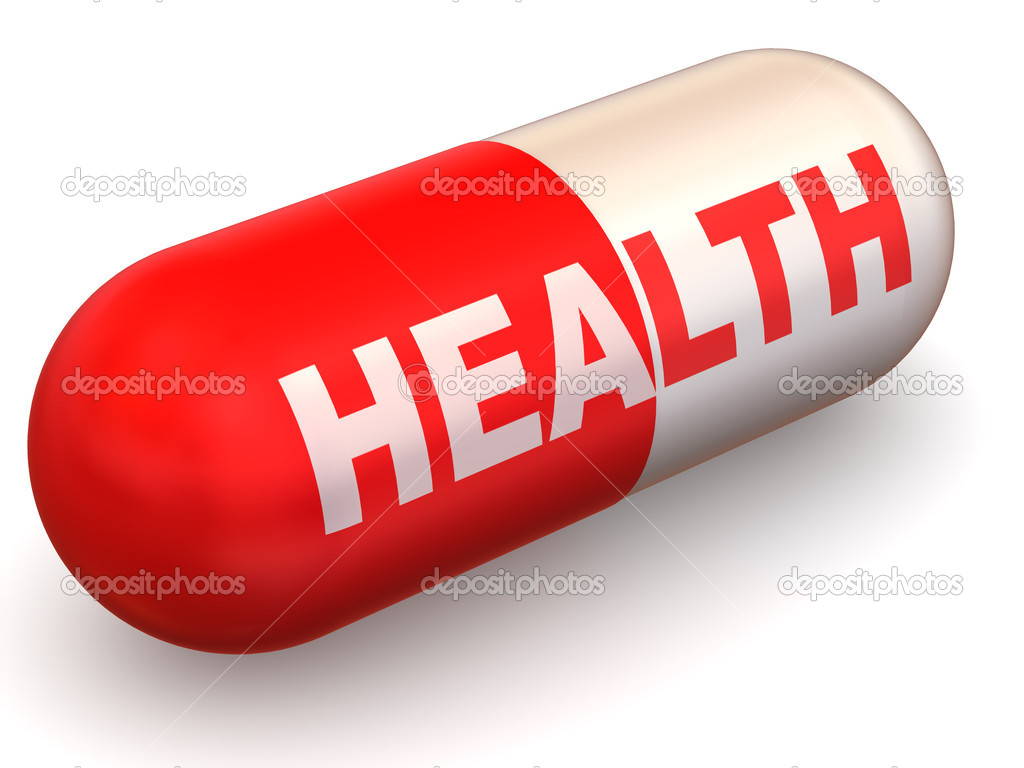 Pills. Health. 3d  Stock Photo #5069784