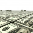 Abstract background from dollars — Stock Photo #5070097