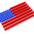 flag of usa — Stock Photo #5070379