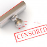 Stamp censored — Stock Photo #5071952