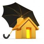 House and Umbrella — Stock Photo #5072157