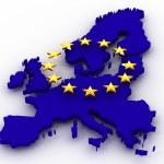 Karte von Europa — Stockfoto #5072667