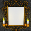Abstract frame, ornament — Stock Photo