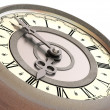 Clock. eight o'clock — Stockfoto