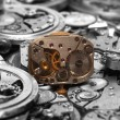 Watch mechanism - Stockfoto