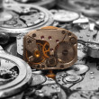 Watch mechanism - Foto Stock