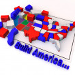 "Puzzle ""build USA"" — Stock Photo #5081950"