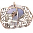 Stock Photo: Consumer's basket with question