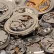 Vintage watch mechanism — Stock Photo
