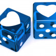 Stock Photo: Cubes with heart