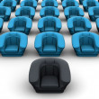 Armchairs. 3d — Stock Photo #5082864