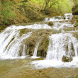 Waterfall Jur-Jur in Cremea. - Stock Photo