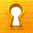 Stock Photo: Keyhole