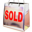 Stock Photo: Shopping bag. Sold
