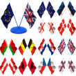 Flags. 3d — Stock Photo #5084105