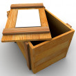 Crate. — Stock Photo