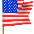 Flag. USA. — Stock Photo