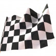 Checkered flag — Stock Photo