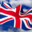 Flag. United Kingdom — Stockfoto