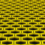 Honeycomb. Background. — Stock Photo