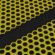 Honeycomb. Background - Foto Stock