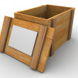 Stock Photo: crate