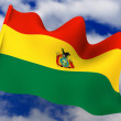 Stock Photo: Flag. Bolivia
