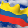 Flag. Colombia — Stock Photo #5085266