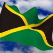 Stock Photo: Flag. Jamaica