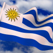 Stock Photo: Flag. Uruguay