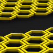 Honeycomb. Background - Zdjęcie stockowe