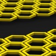 Honeycomb. Background - Stock Photo