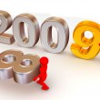 New Year. 2009 — Stock Photo