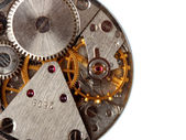 Vintage watch mechanism — Stock Photo