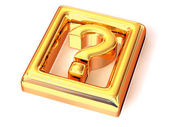 Question. Information. Symbol — Stock Photo