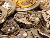 Mecanismo de relógio vintage — Foto Stock