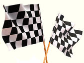 Checkered flags. — Stock Photo