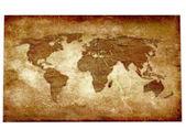 Mapa vintage — Foto Stock