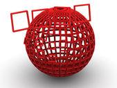 Sphere. 3d — Stock Photo