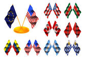 American flags 3. — Stock Photo