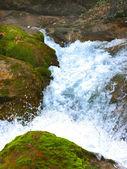 Waterfall Jur-Jur in Cremea. — Stock Photo