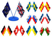 Flags. 3d — Stock Photo