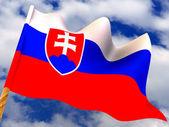 Flag. Slovakia — Stock Photo