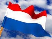 Flag. Netherland — Stock Photo
