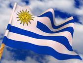 Flag. Uruguay — Stock Photo